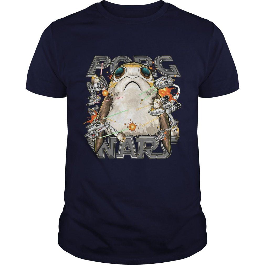 Star Wars Last Jedi Porg Wars Shirt