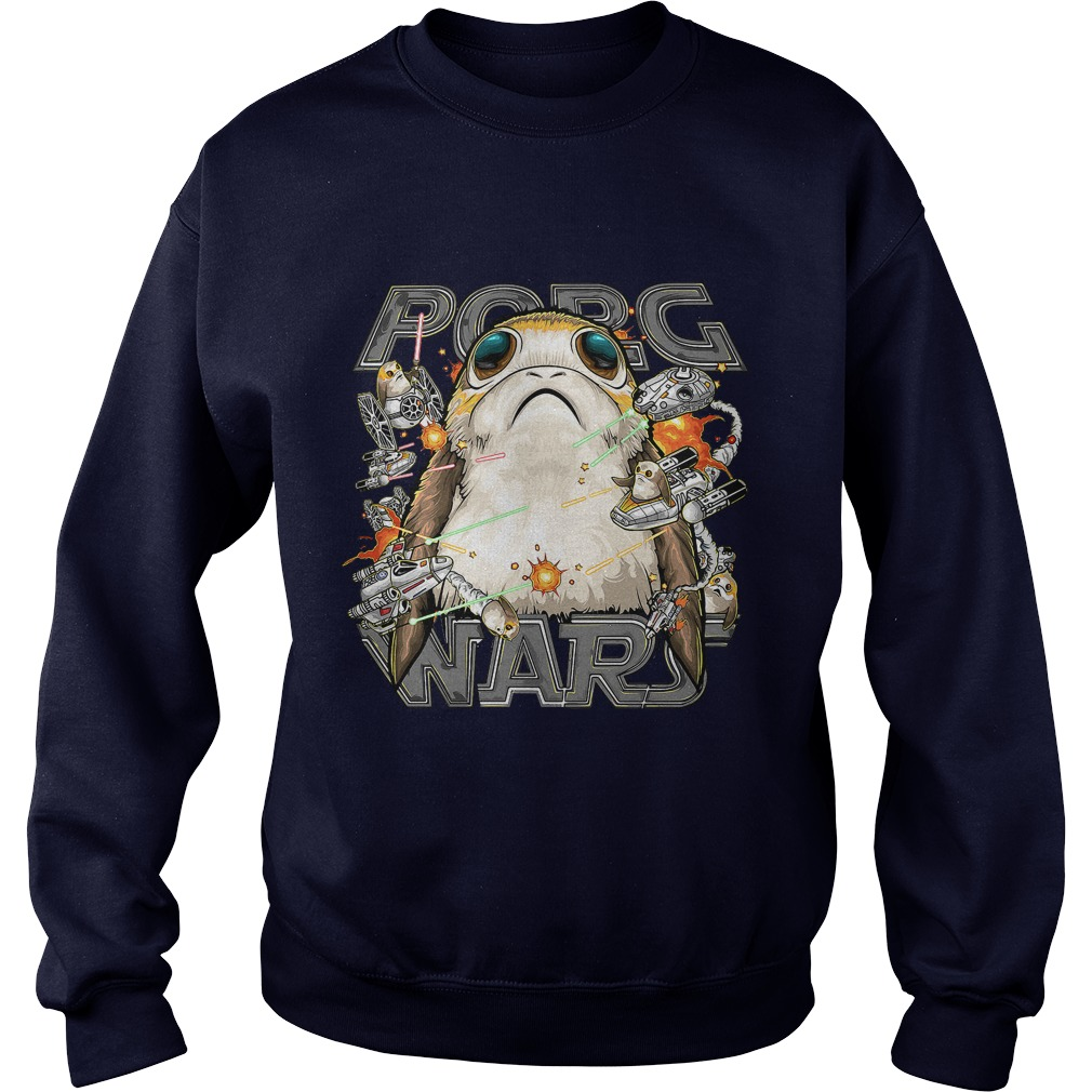 Star Wars Last Jedi Porg Wars Sweater