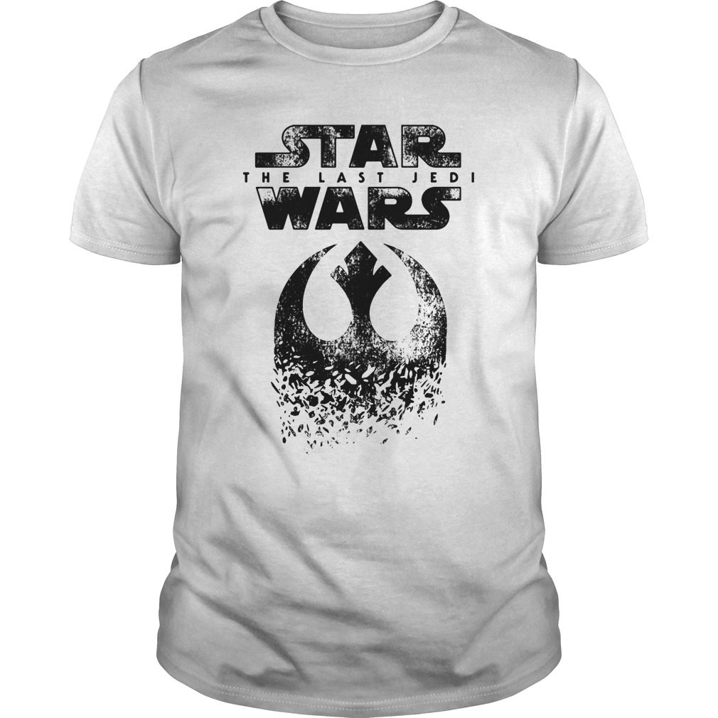 Star Wars Last Jedi Rebel Logo Shirt
