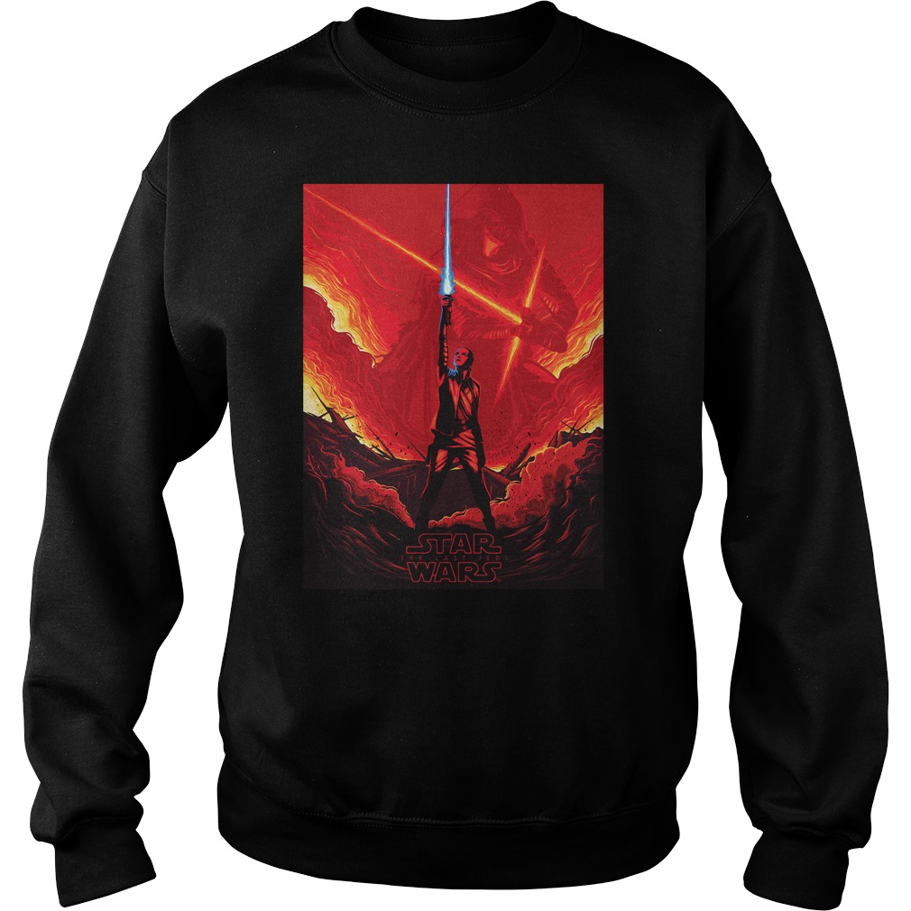 Star Wars Last Jedi Shirt Rey Versus Kylo Ren Sweater