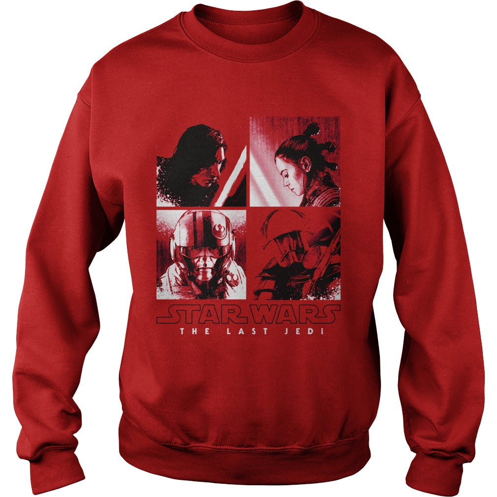 Star Wars Last Jedi Squared Sweater