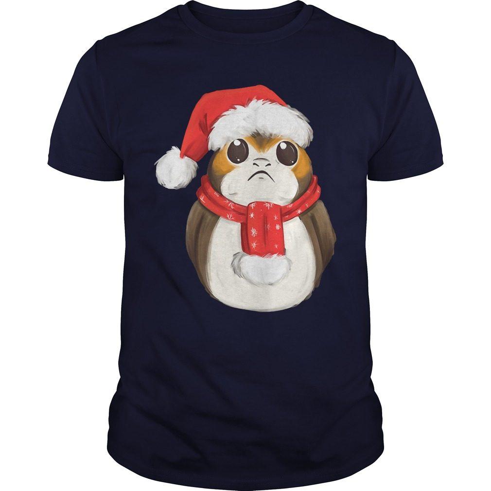 Star Wars Last Jedi Xmas Porg Shirt
