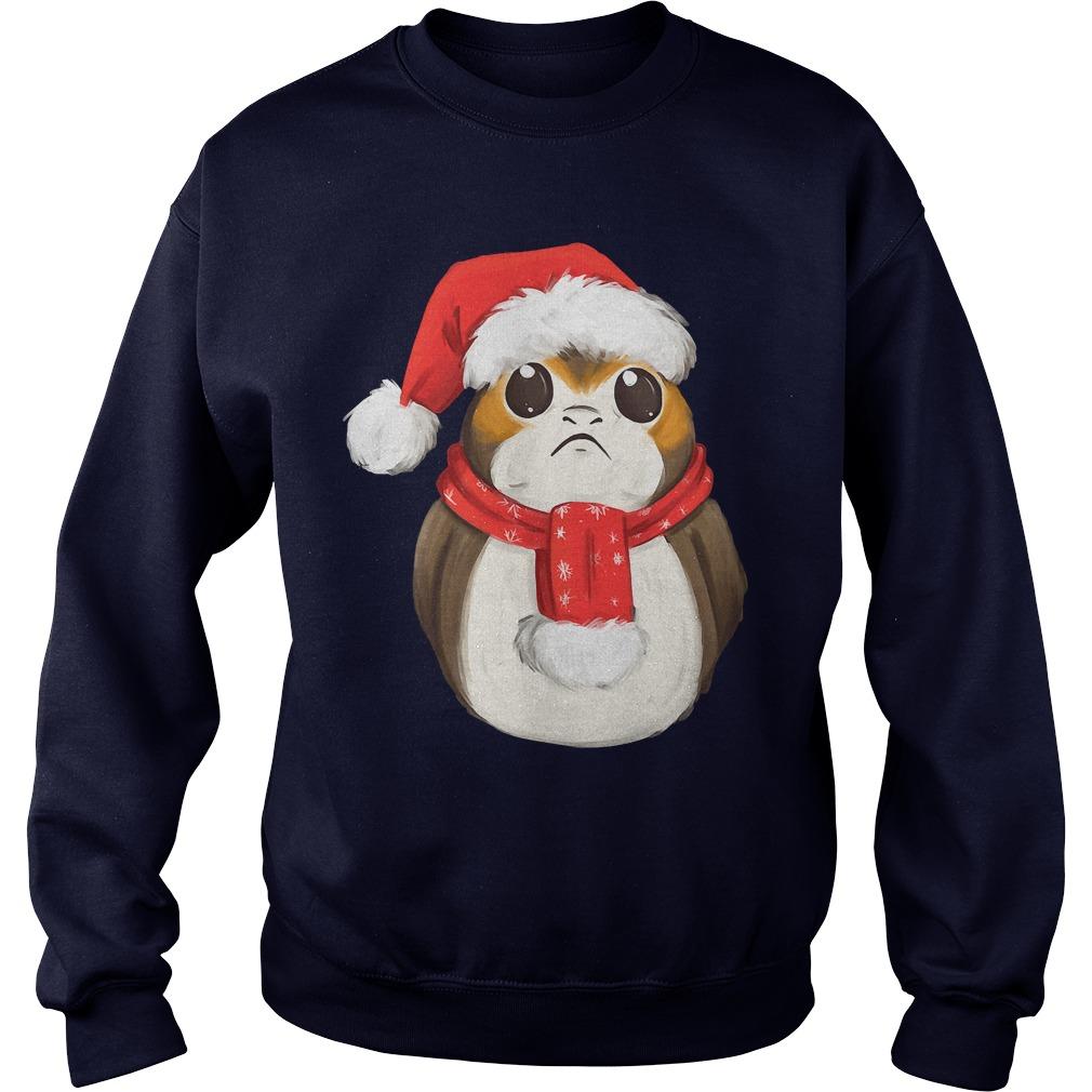 Star Wars Last Jedi Xmas Porg Sweater