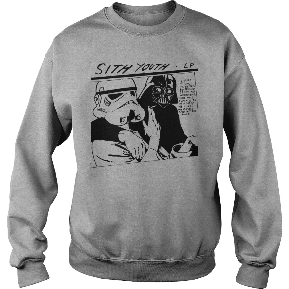 Star Wars Stormtrooper Sith Youth Sonic Youth Goo Lp Sweater