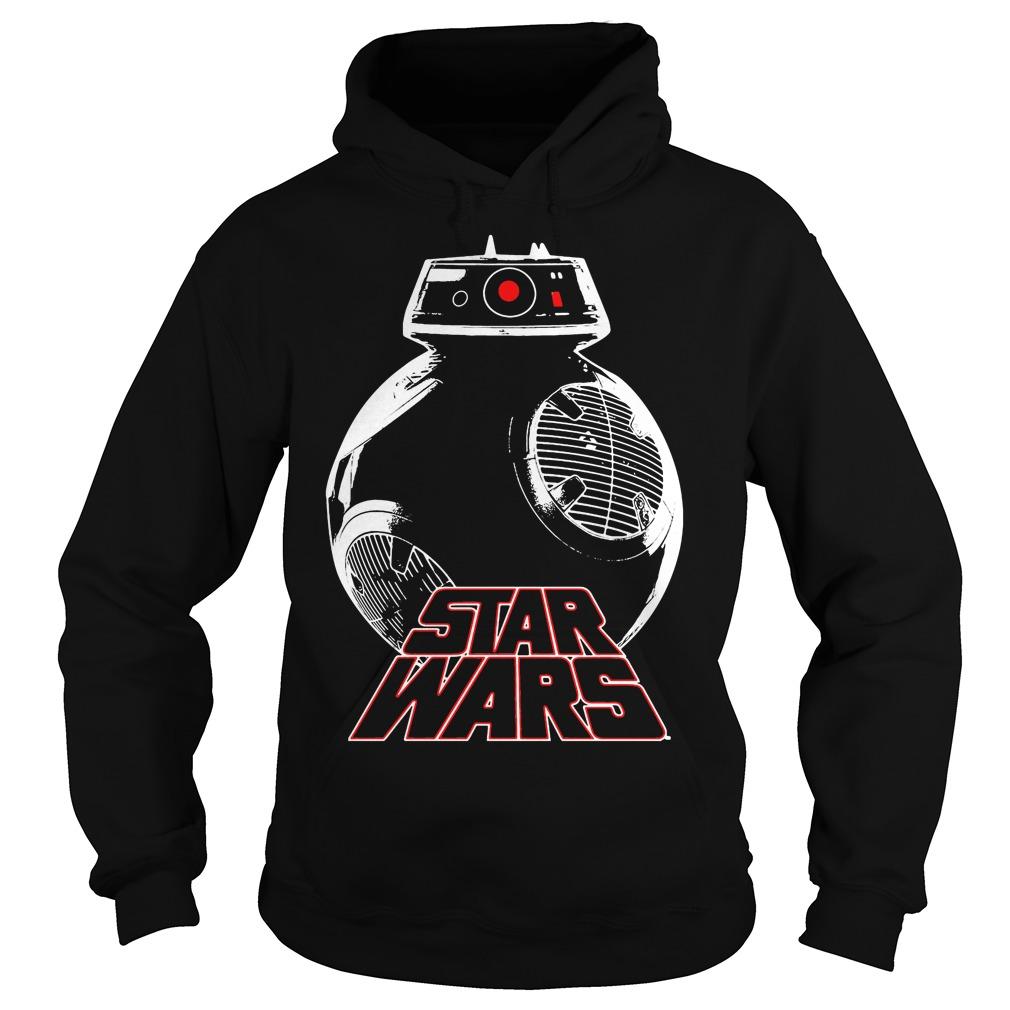 Star Wars The Last Jedi Silver Droid Hoodie