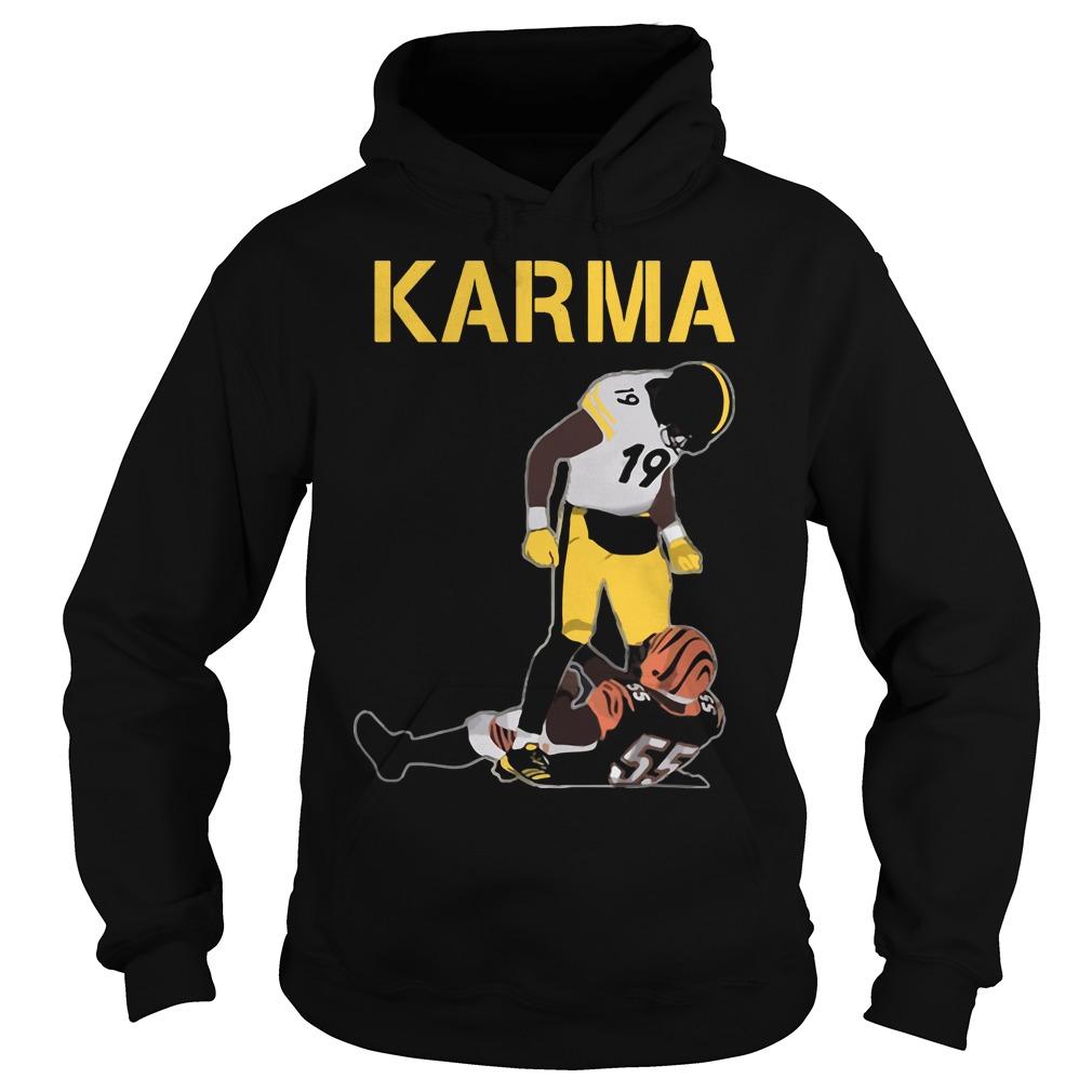 Steelers Karma Juju Smith Schuster Vontaze Burfict Hoodie