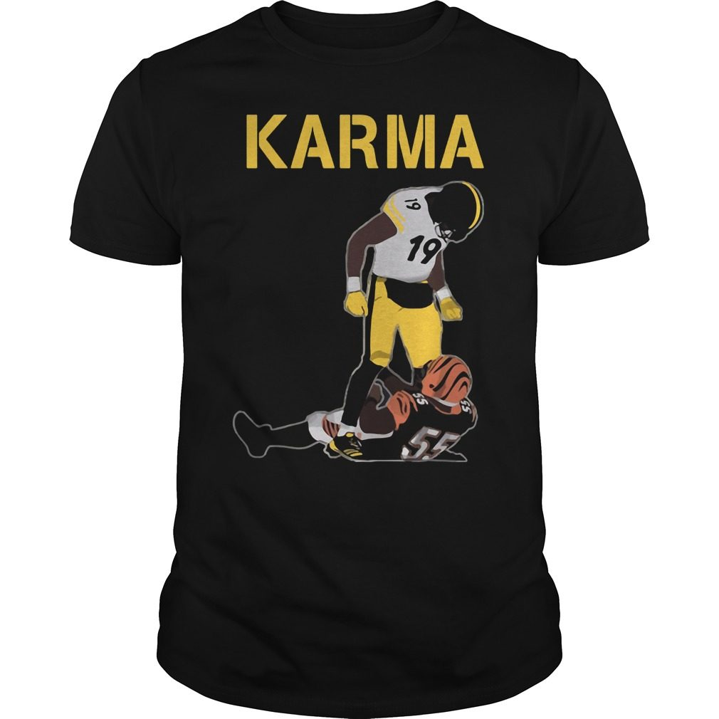 Steelers Karma Juju Smith Schuster Vontaze Burfict Shirt