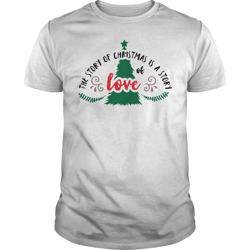Story Christmas Story Love Guys Shirt