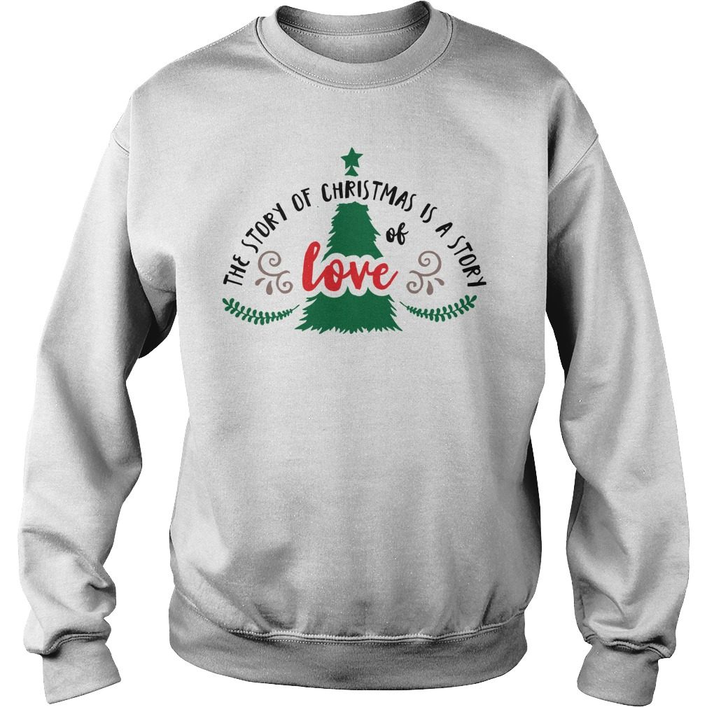 Story Christmas Story Love Sweater
