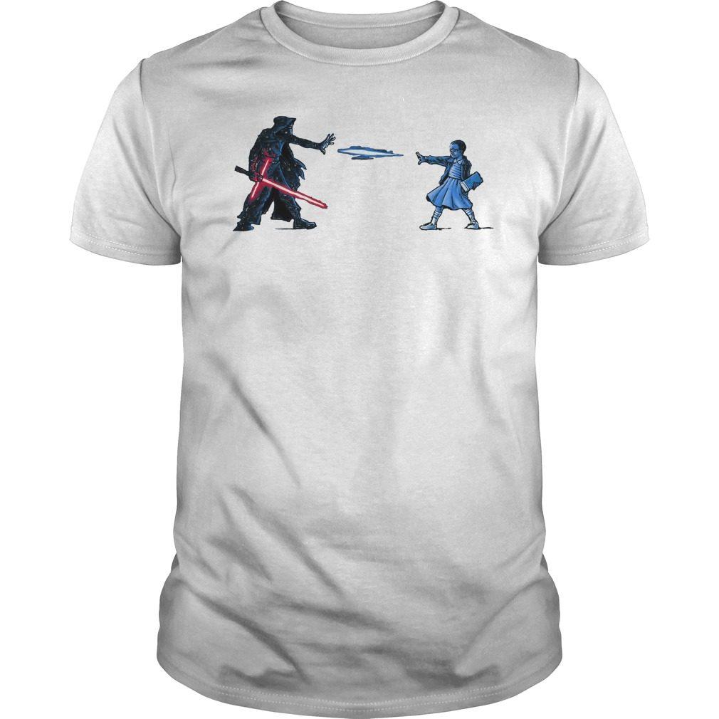Strange Awakening Eleven Girl Vs Star War Shirt