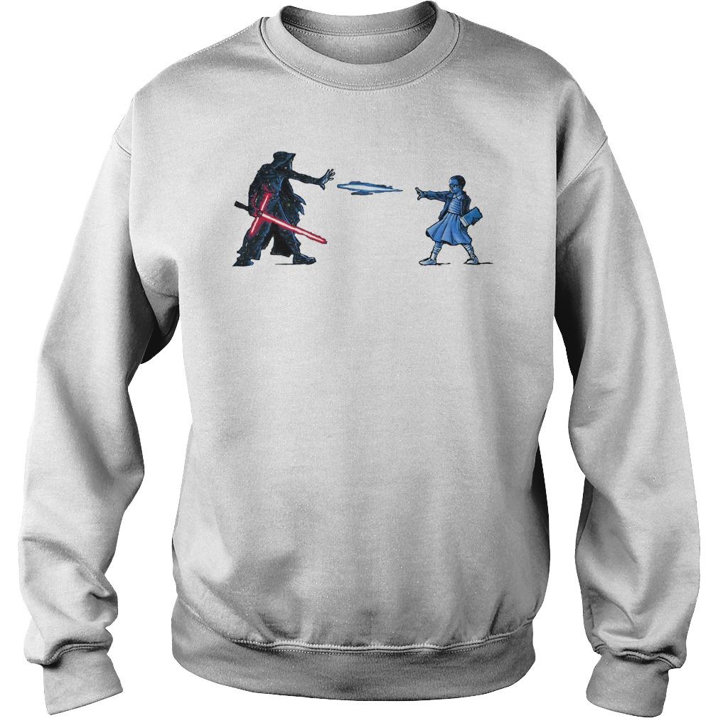 Strange Awakening Eleven Girl Vs Star War Sweater
