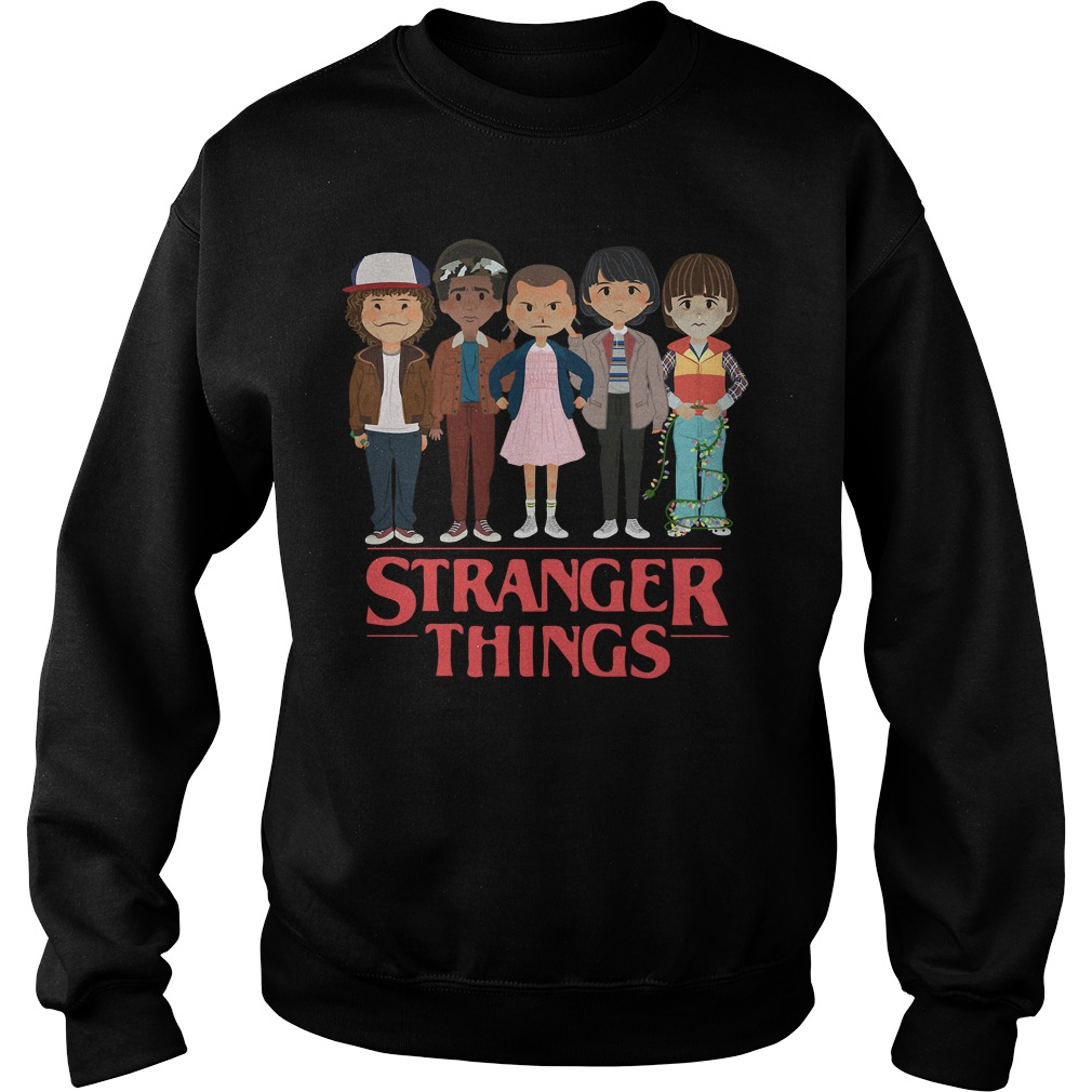 Stranger Things Dustin Lucas Eleven Mike And Will Shirt