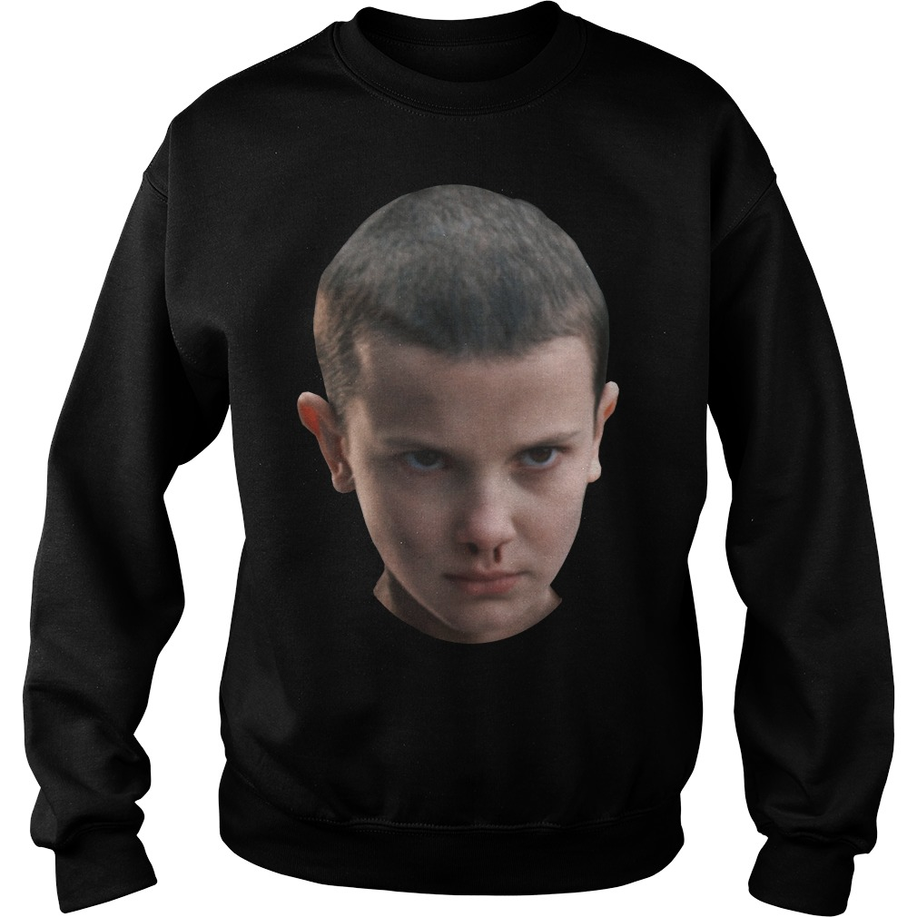 Stranger Things Eleven's Head Shirt