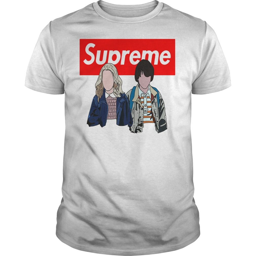 Stranger Things: Supreme Eleven And Mike Shirt