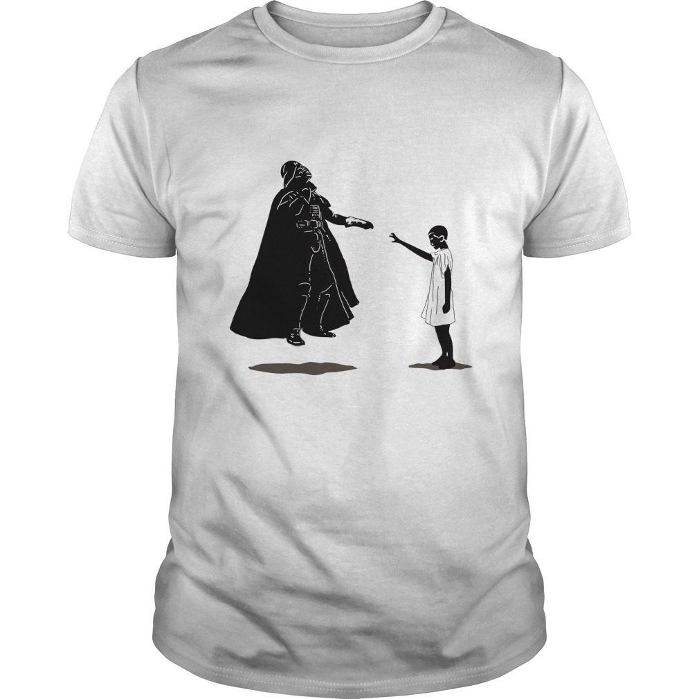 Stranger Things Vs Star Wars: Eleven Vs Darth Vader Shirt