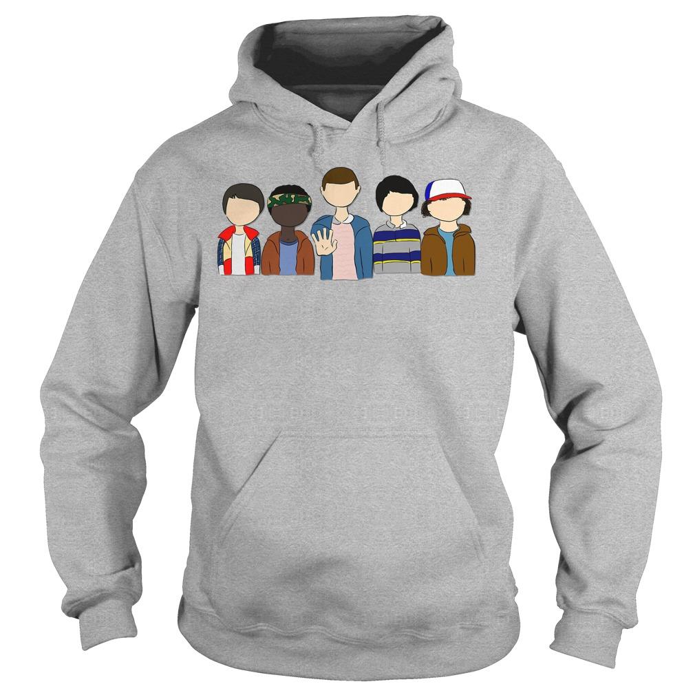 Stranger Things: Will Lucas Eleven Mike Dustin Shirt