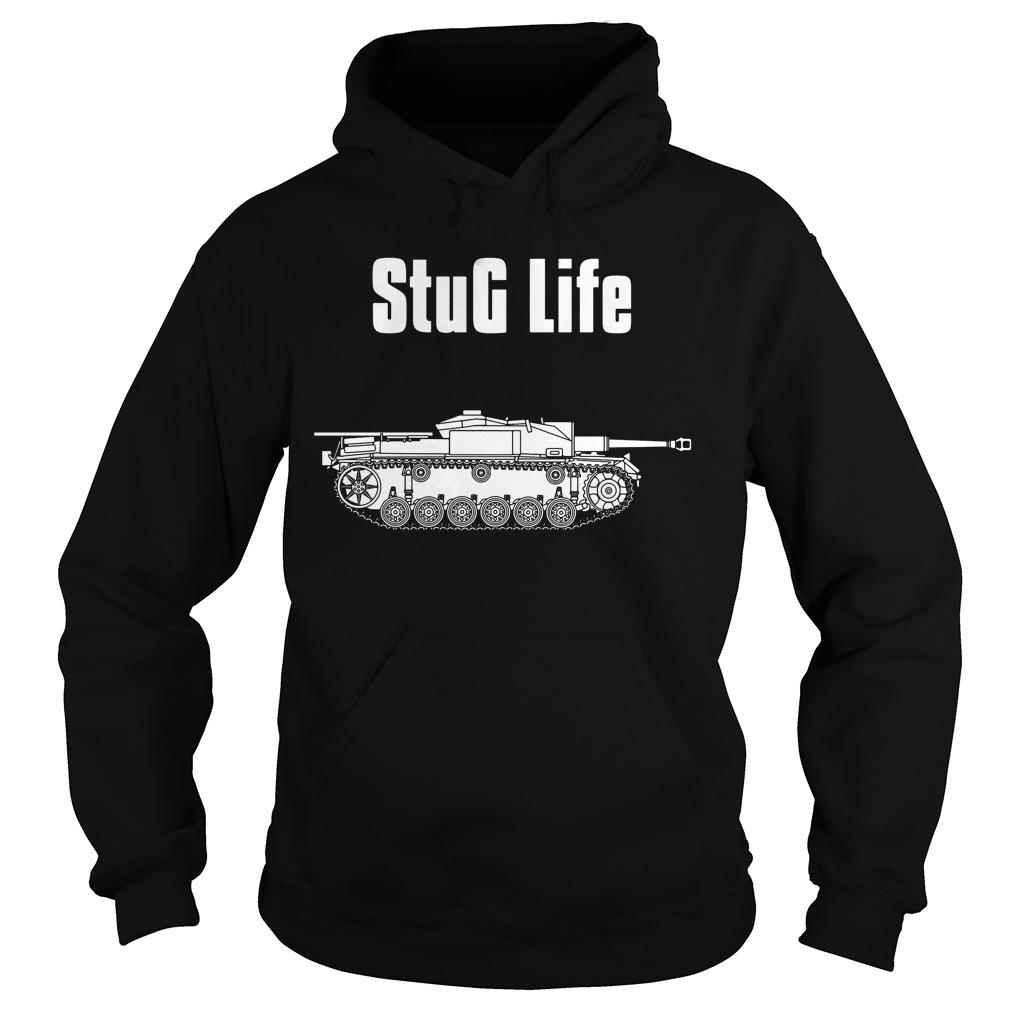 Stug Life Military History Visualized Hoodie