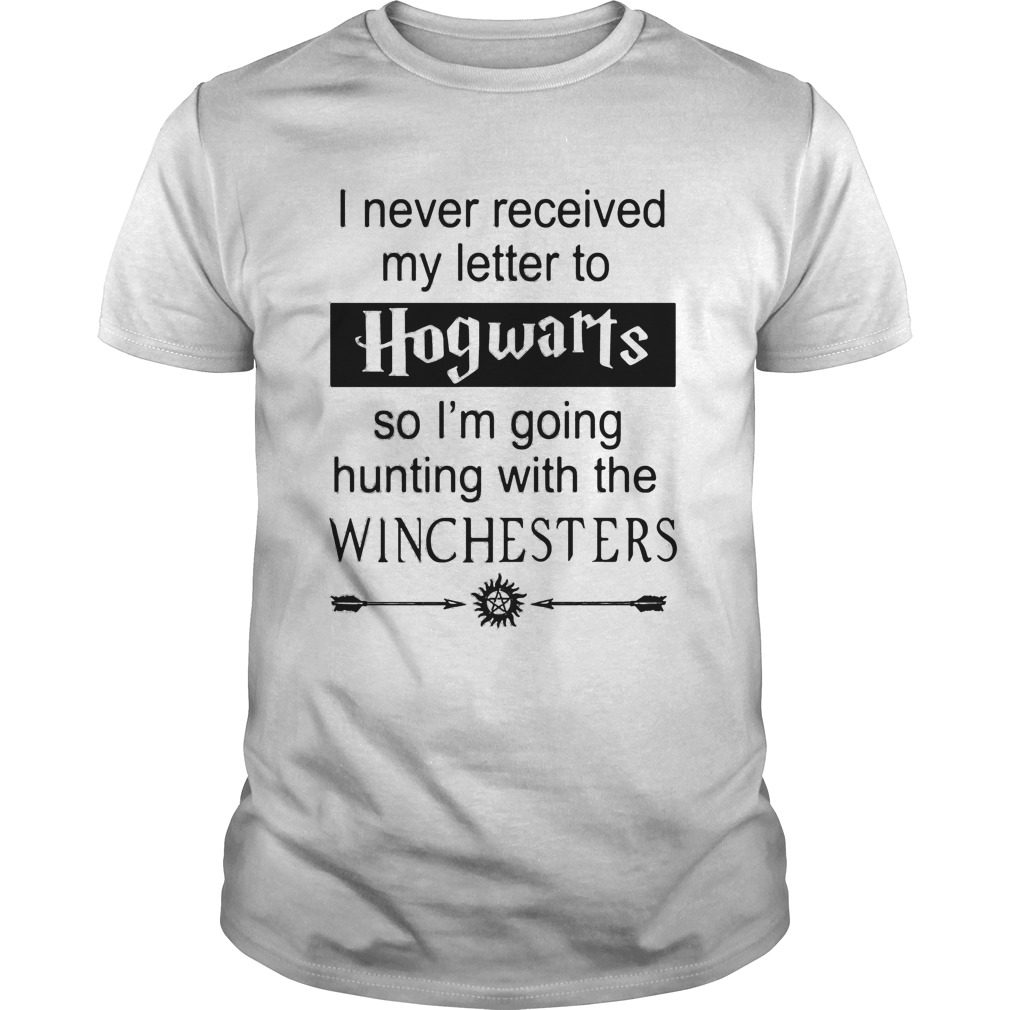 Supernatural: I Never Received My Letter From Hogwarts Shirt, Hoodie, Sweater