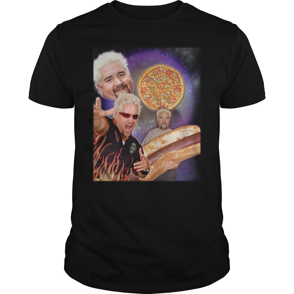 Three Guy Fieri Moon Shirt, Hoodie, Sweater And V Neck T Shirt