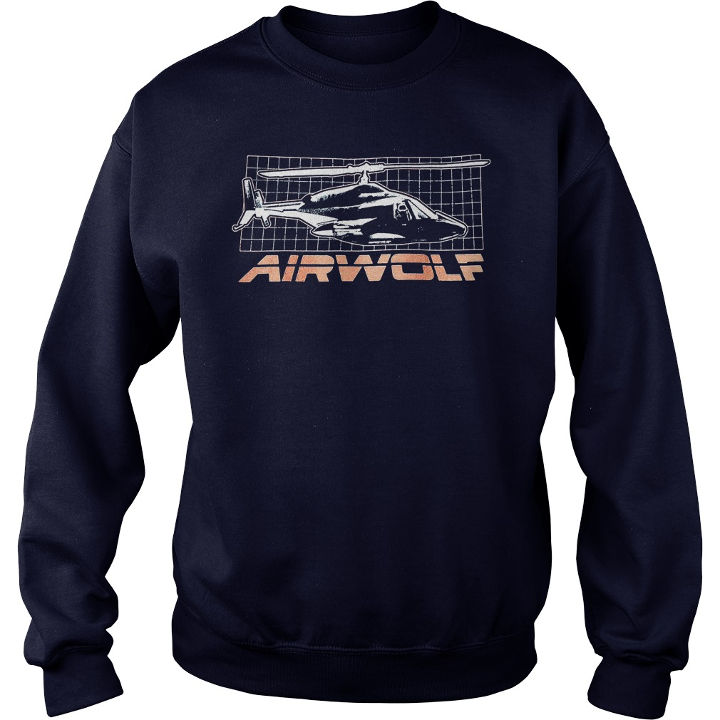 Trevco Airwolf Grid Shirt. Hoodie, Sweater And V Neck T Shirt