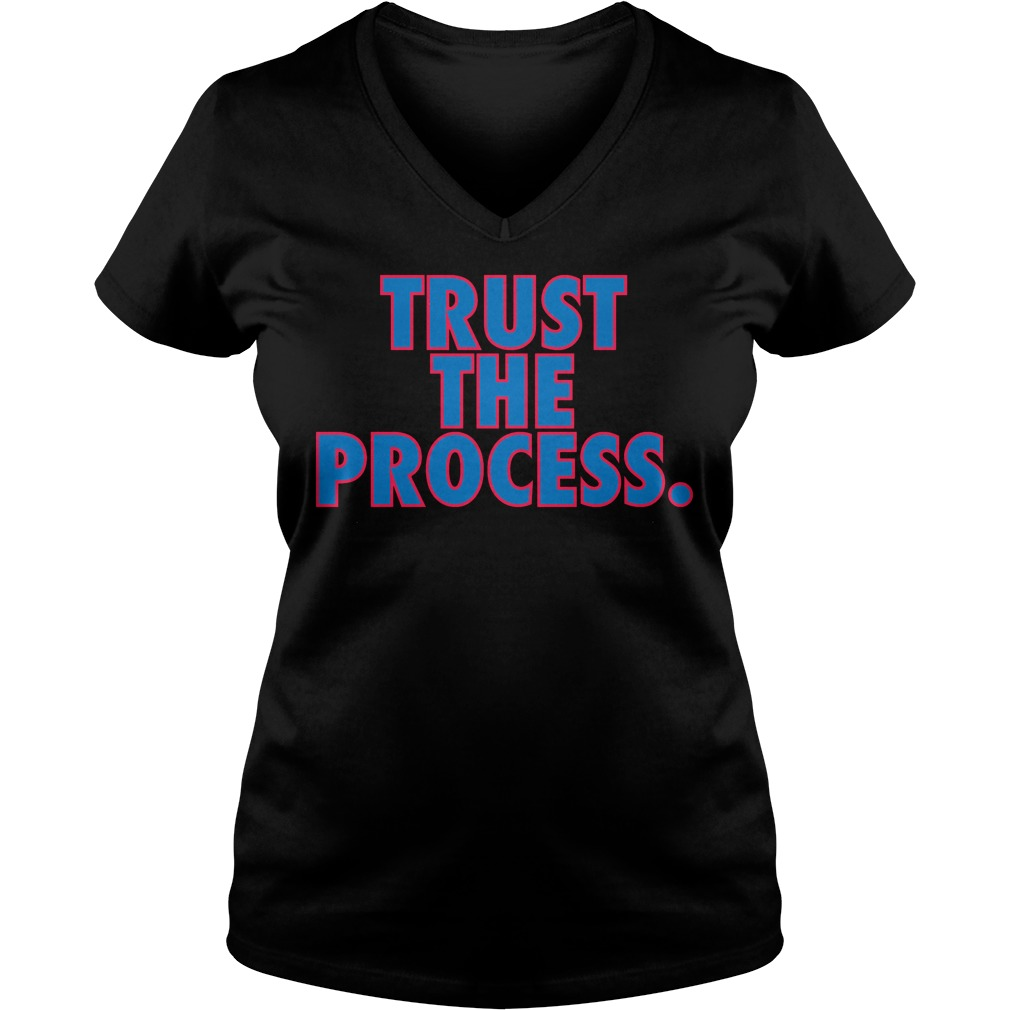 Trust Process V Neck T Shirt