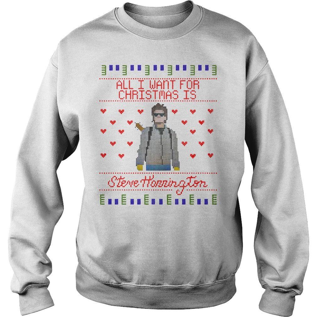 All I Want For Christmas Is Steve Harrington Sweater