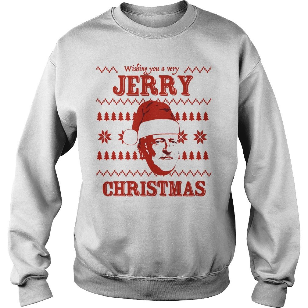 Wishing Jerry Christmas Ugly Sweater