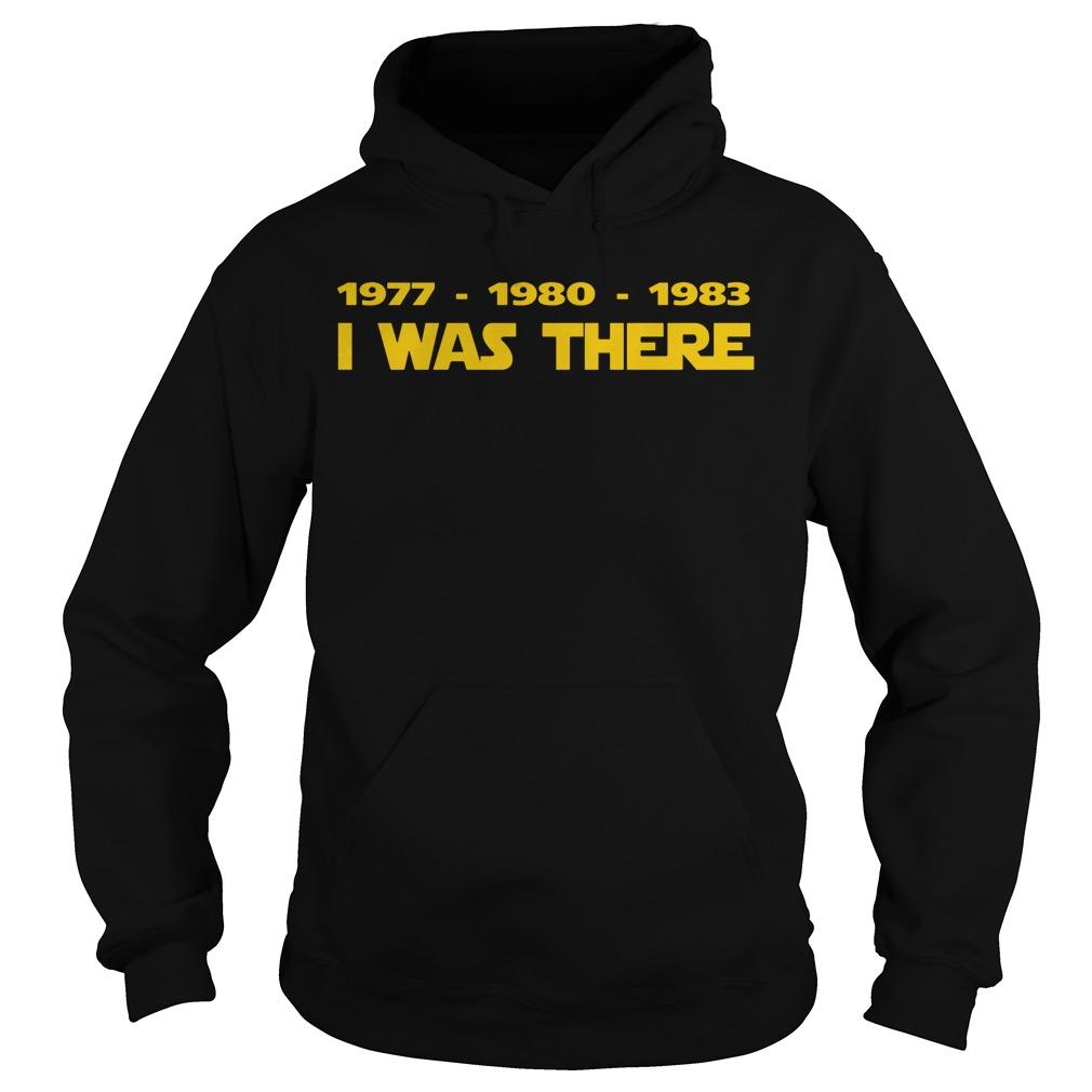 1977 1980 1983 Hoodie