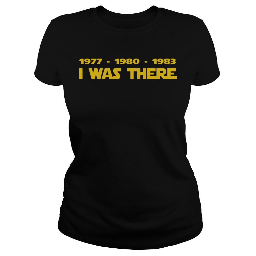 1977 1980 1983 Ladies Tee