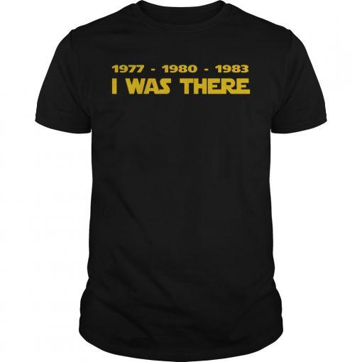 1977 1980 1983 Shirt