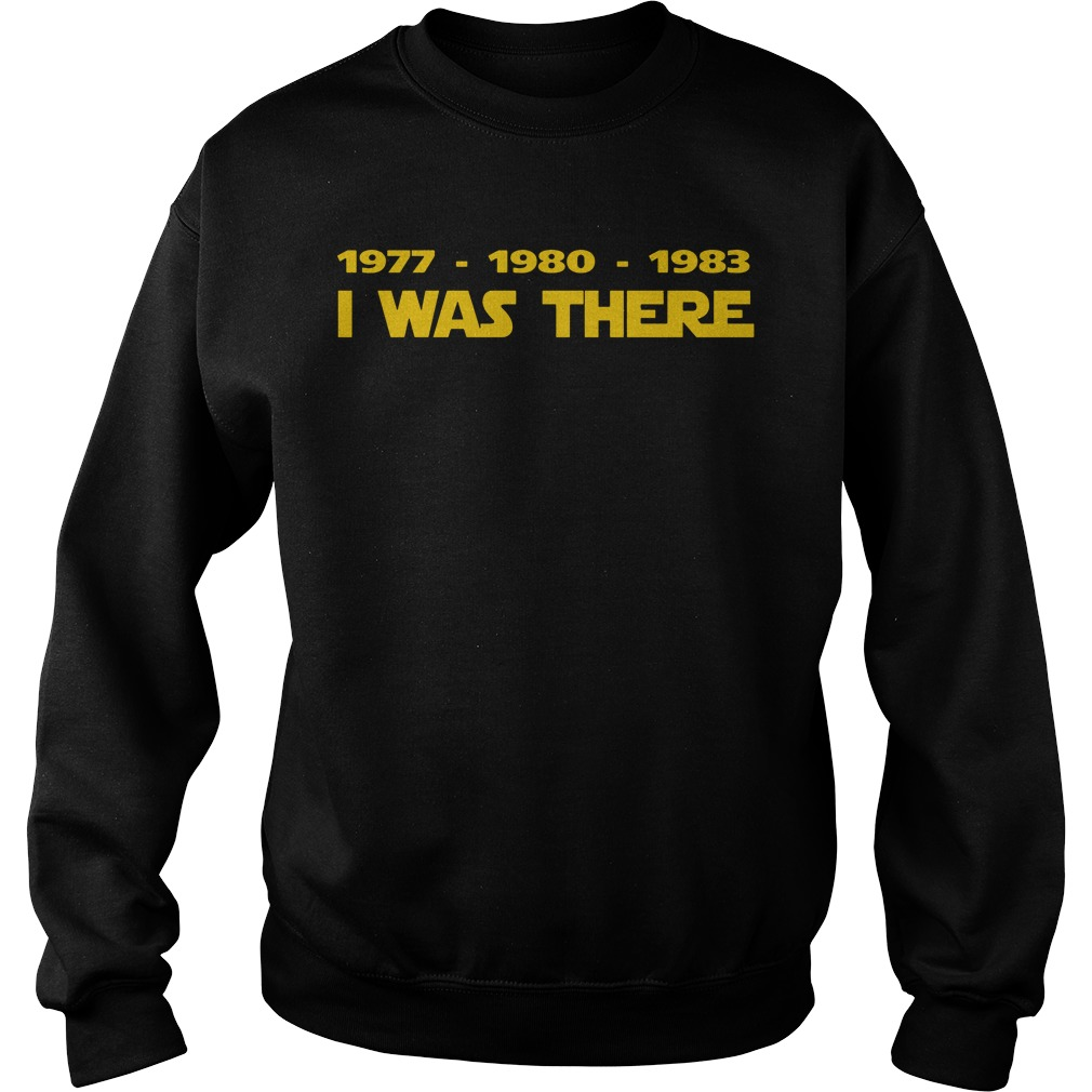 1977 1980 1983 Sweater