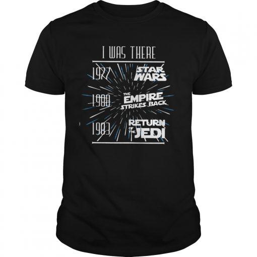 1997 Star War 1980 Empire Strikes Back 1983 Return Jedi Shirt
