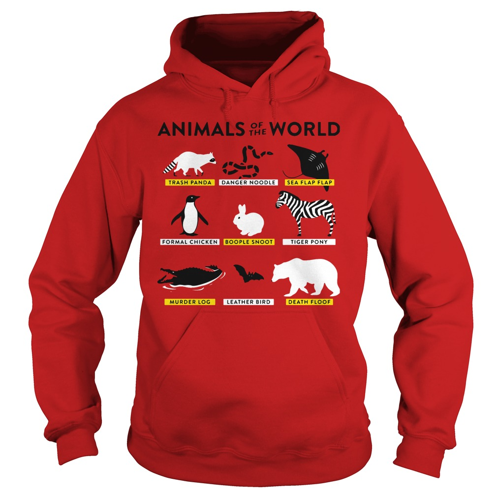 Animals World Hoodie