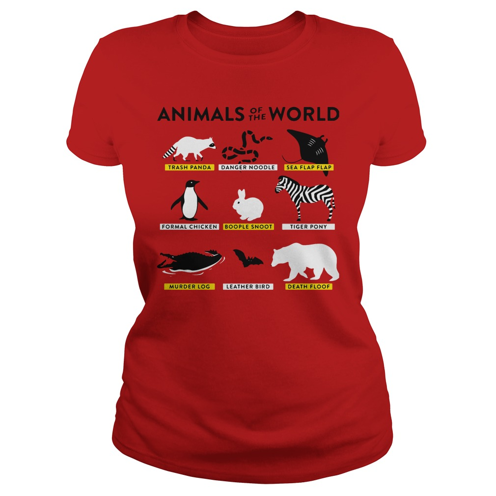 Animals World Ladies Tee