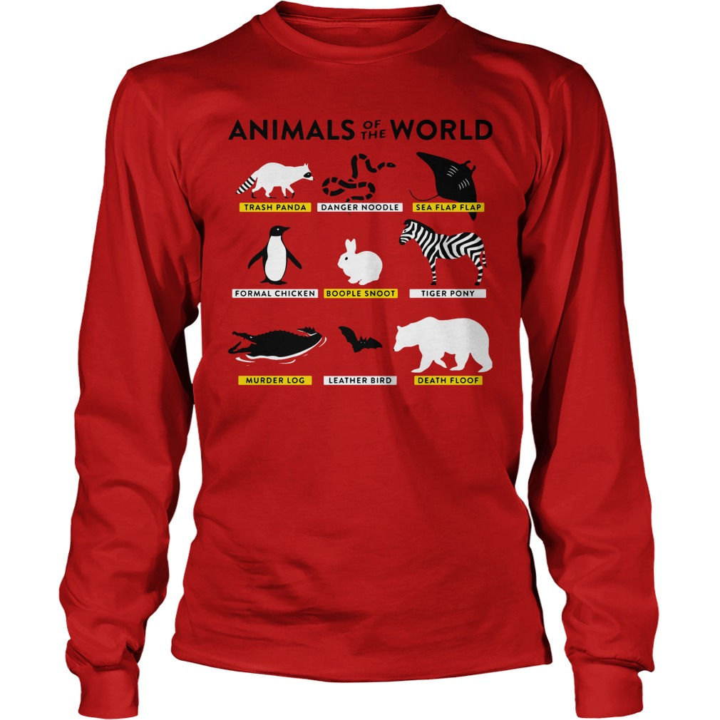 Animals World Longsleeve Tee