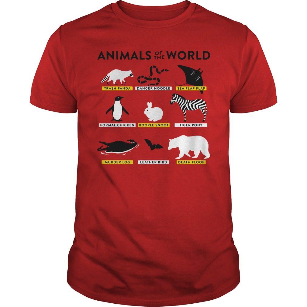 Animals World Shirt