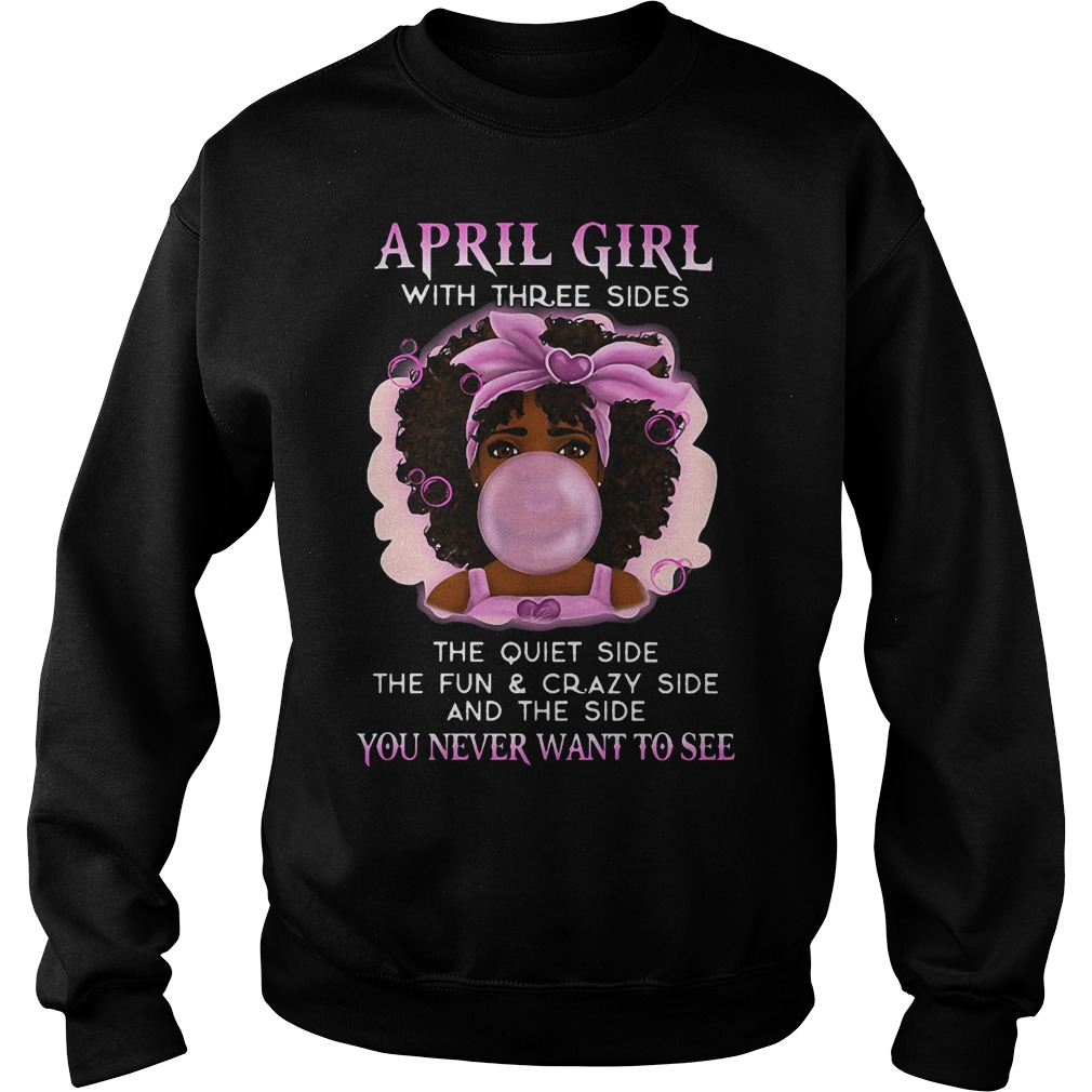 April Girl Three Sides Sweater