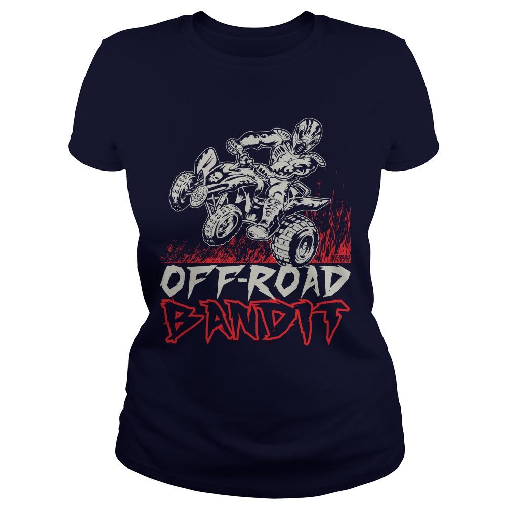 Atv Quad Off Road Bandit Ladies Tee