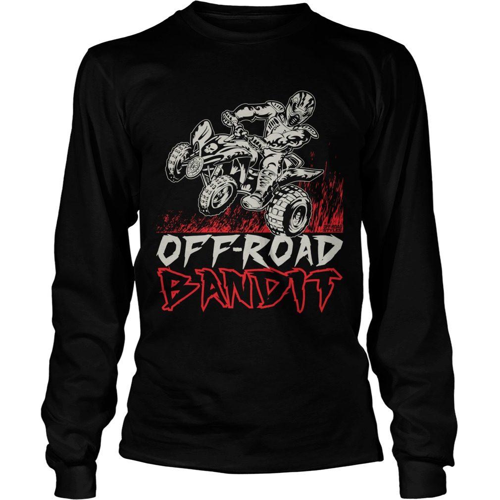 Atv Quad Off Road Bandit Longsleeve Tee