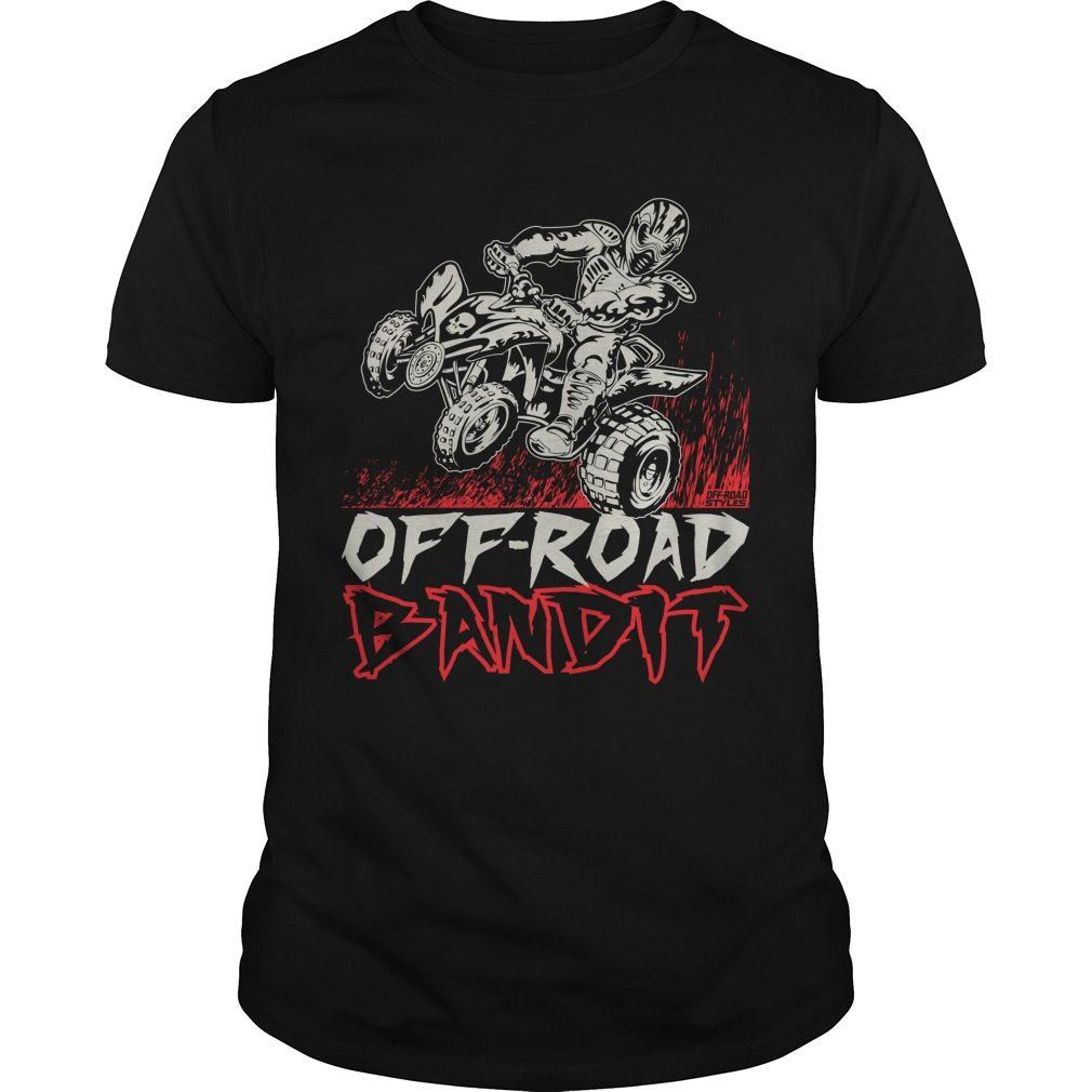 Atv Quad Off Road Bandit Shirt