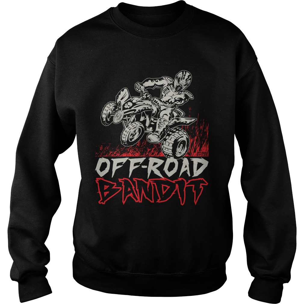 Atv Quad Off Road Bandit Sweater