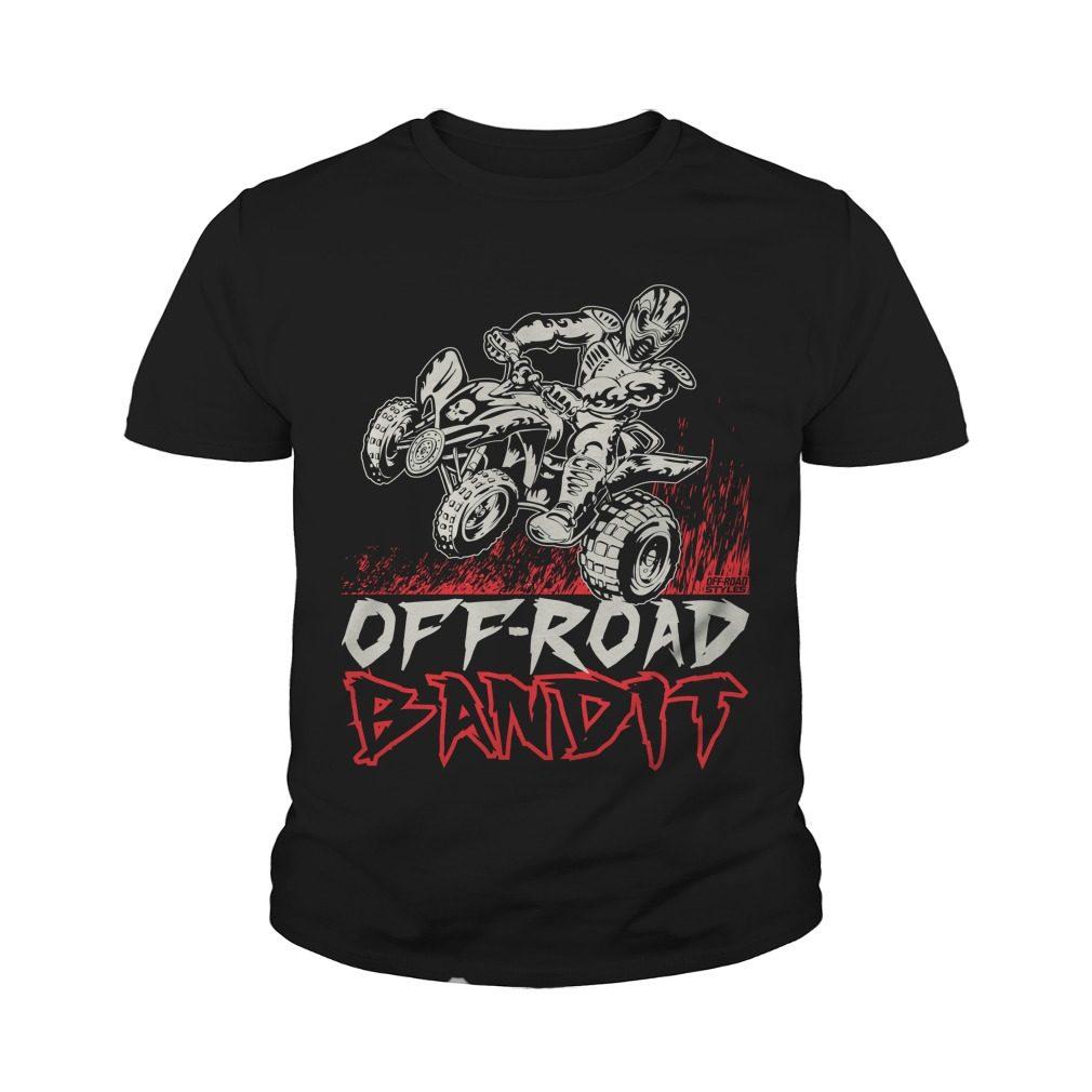Atv Quad Off Road Bandit Youth Tee