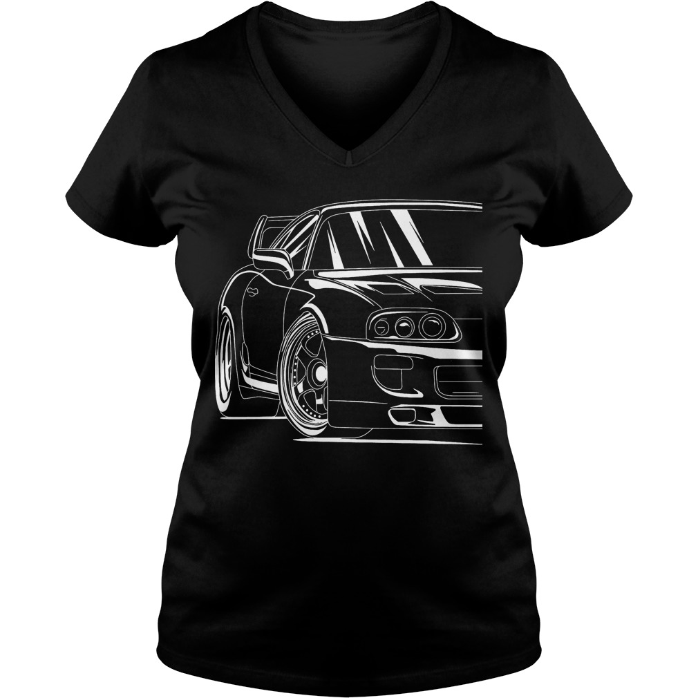 Best Toyota Supra V-neck t-shirt
