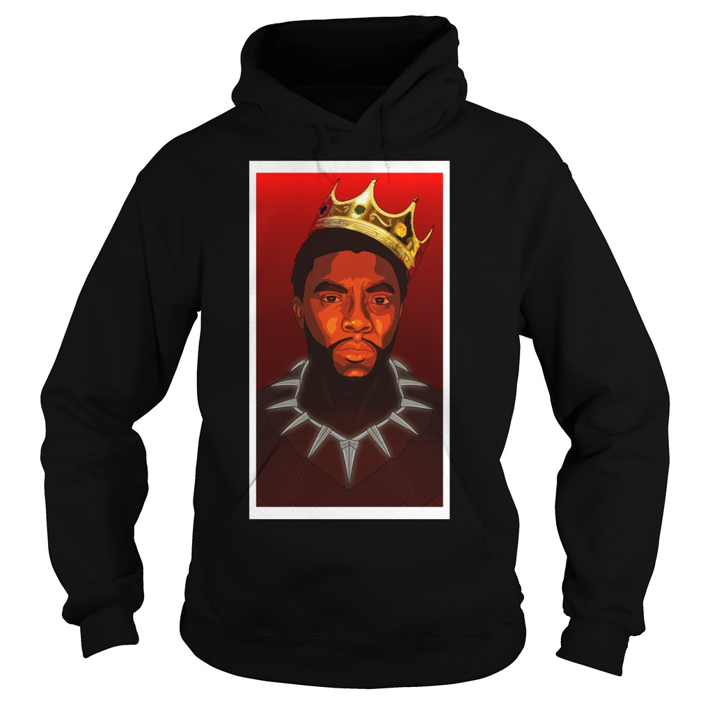 Black Panther Notorious B G Tri Blend Hoodie