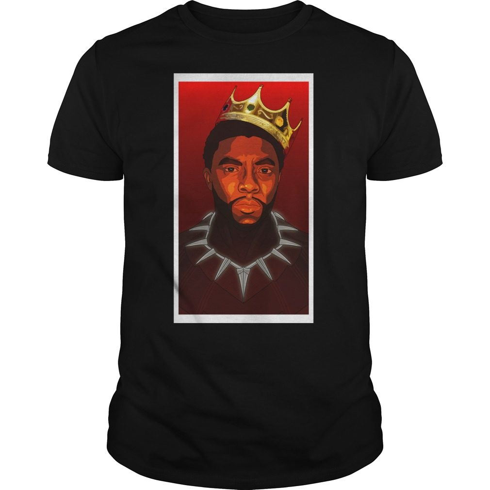 Black Panther Notorious B G Tri Blend Shirt