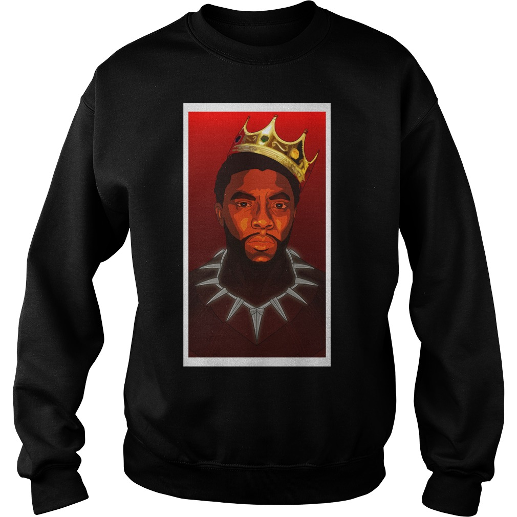 Black Panther Notorious B G Tri Blend Sweater