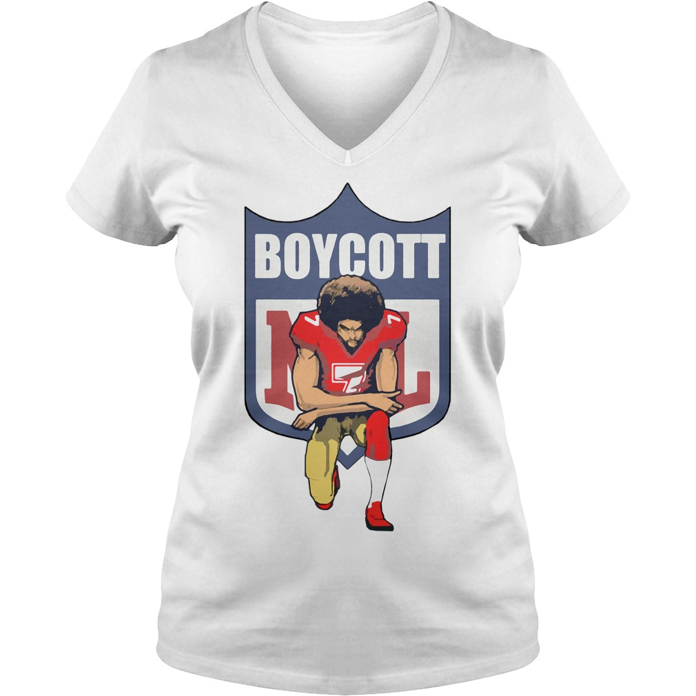 Colin Kaepernick Kneeling V-neck t-shirt