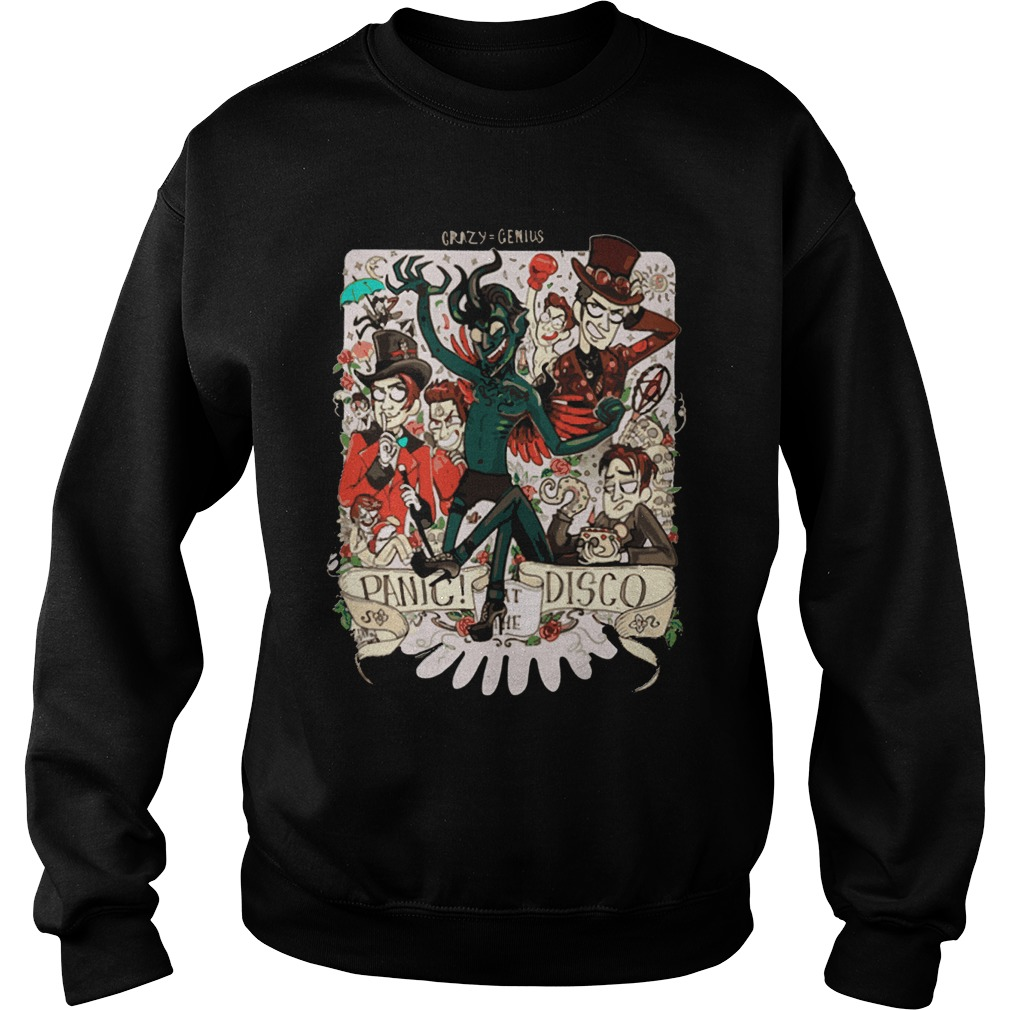 Crazy Genius Panic Disco Sweater