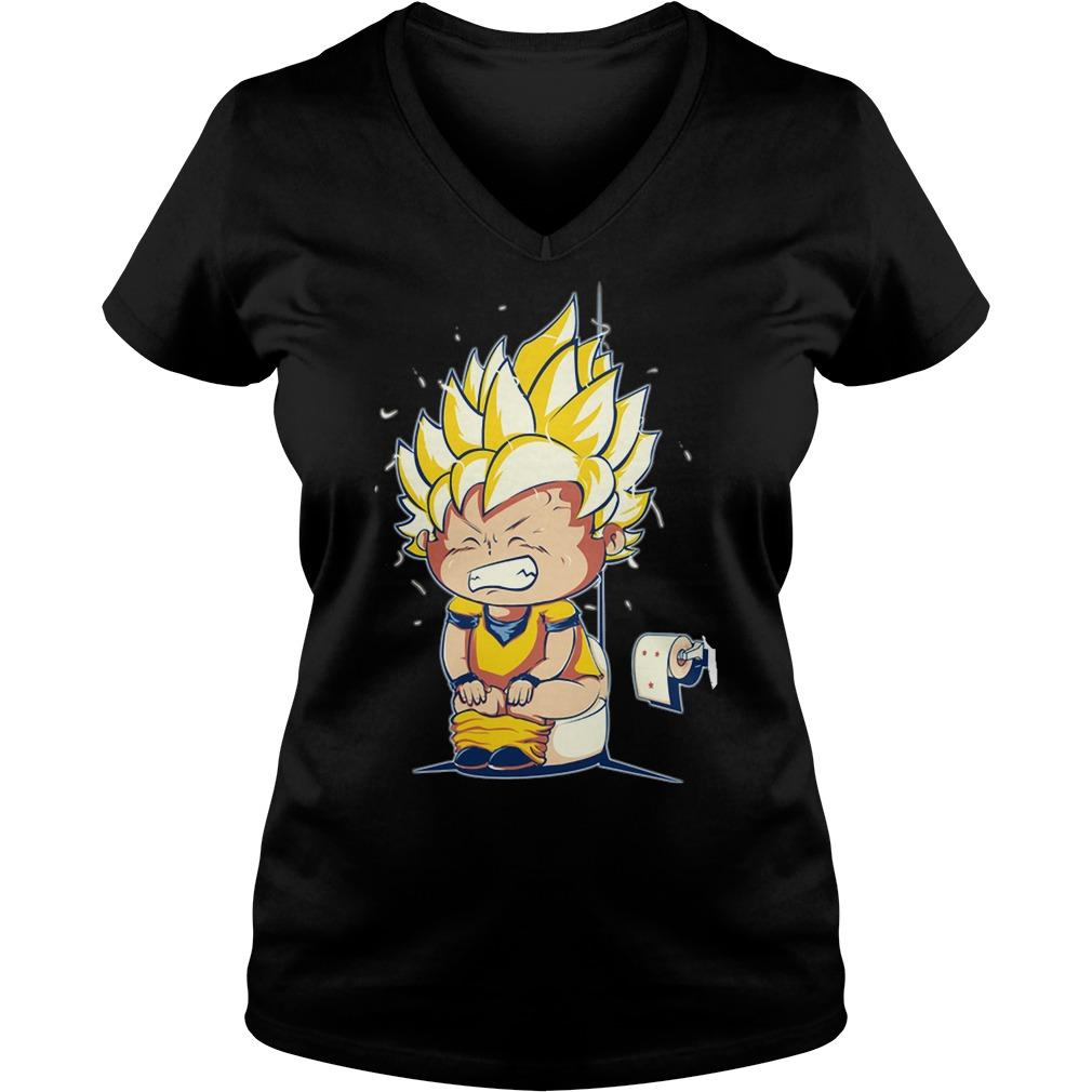 Dbz Super Saiyan Vegeta Goku Dragon Ball V-neck t-shirt