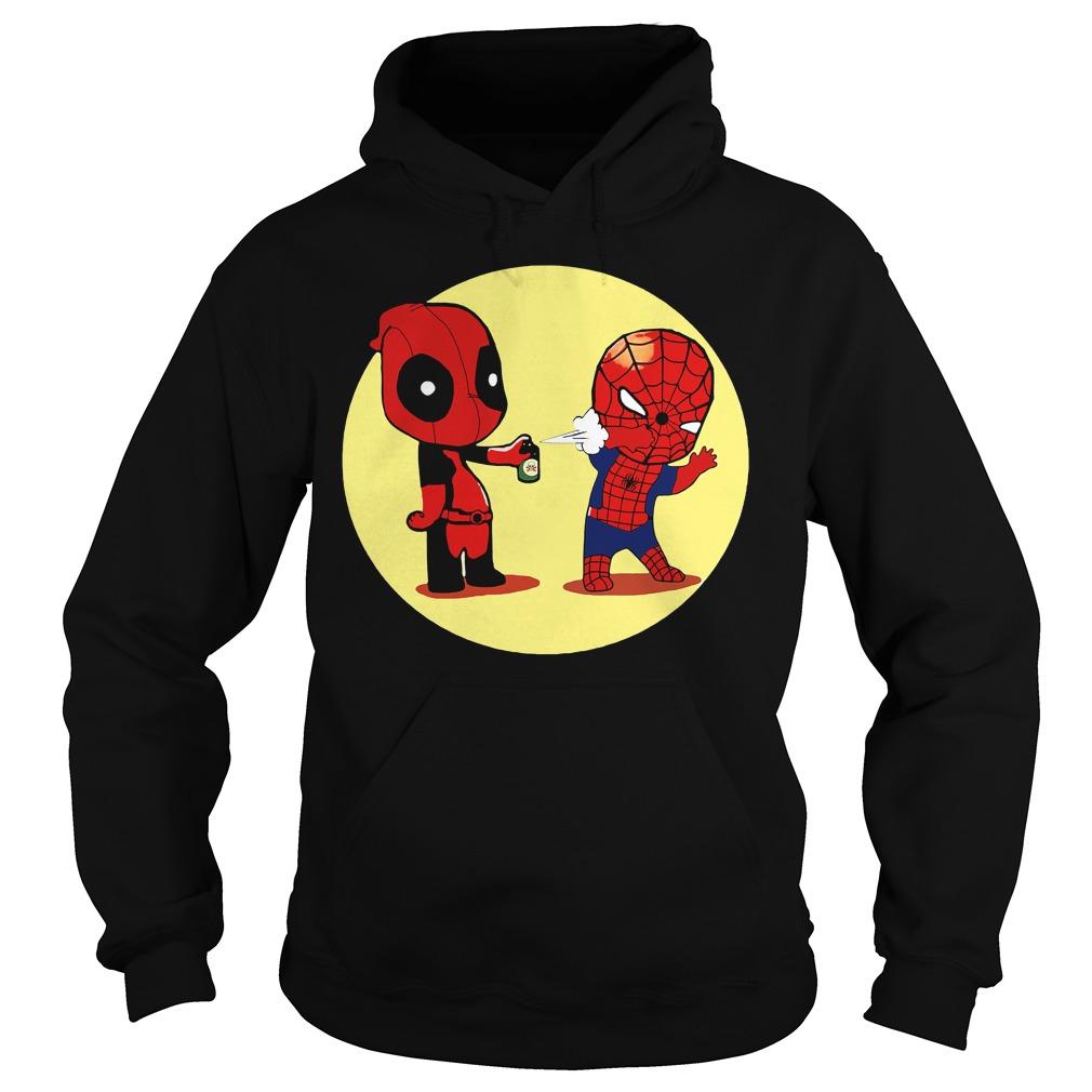 Deadpool Spiderman Superhero Hoodie